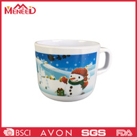 Christmas printing product china good price water heater cup with handle