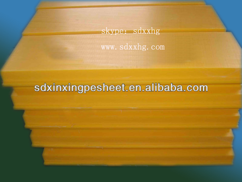 UHMW PE Plastic Polymers Sheet from China