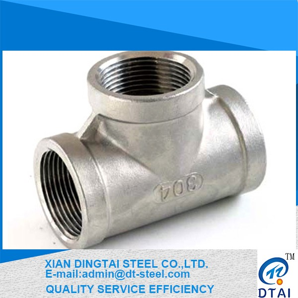 various style welded 304l stainless steel pipe fitting