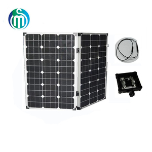 High efficiency sunpower folding solar electrical energy panels