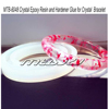 Crytsal Epoxy Resin and Hardener for Making Resin Bracelet or Bangle