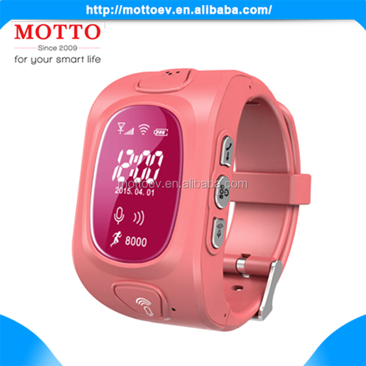 Children Safe GPS Track Touch Screen Watch Phone