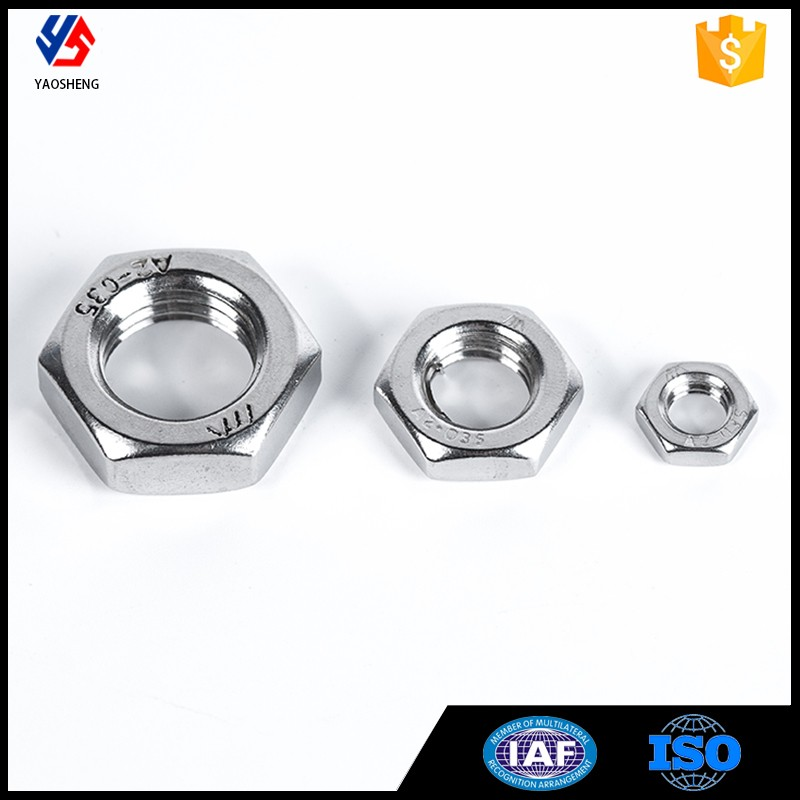DIN439 Stainless Steel High Quality Automobile Wheel Nut