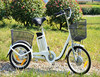 Big electric tricycle three wheels electric trike for elderly and the disabled