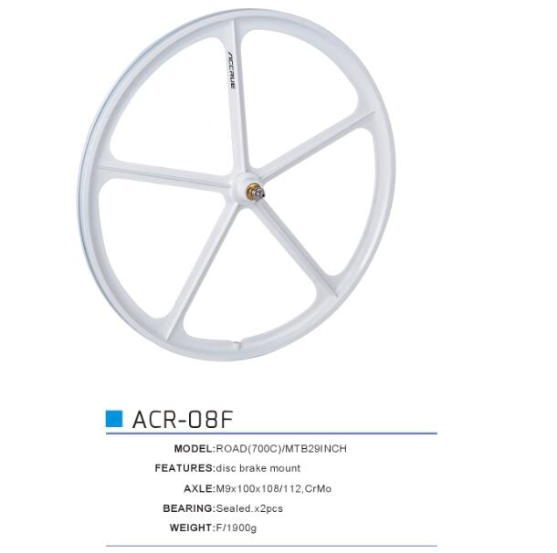 fixed gear bike aero spoke wheel 4 spoke bmx wheels aero spoke fixie wheelset 700c alloy Bicycle wheel set