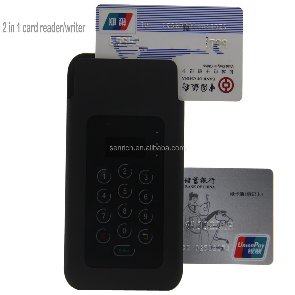 Bluetooth Type Encrypting Pin Pad with Card Reader, MSR, EMV, PIN
