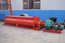 Horizontal concrete coal /charcoal mixer machine