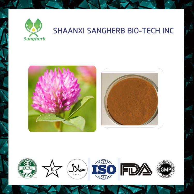 100% Natura red clover extract with 40% Isoflavones, Trifolium pratense L
