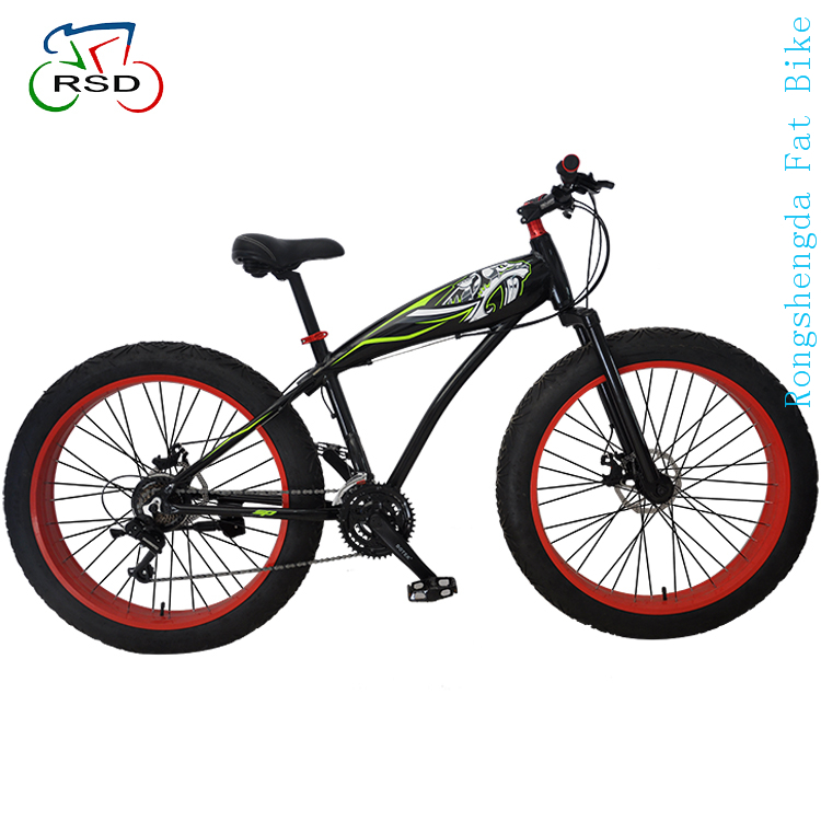 Aluminum alloy grip fat tire bike beach bicycle / fat bike cruiser / snow bike from China factory manufacture