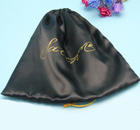 Wholesale Promotional Large Drawstring Satin Bags For Raincoat