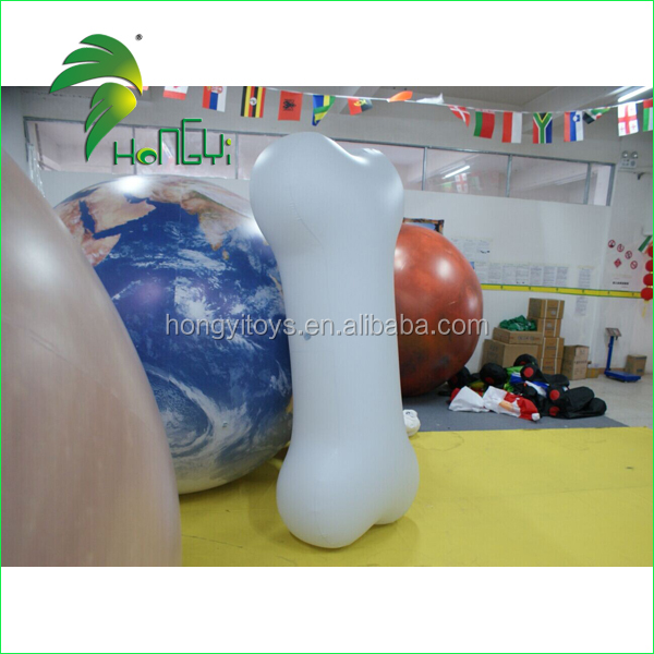 Advertising Inflatable Model , PVC White Inflatable Bone For Sale