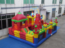 Giant inflatable bouncers, kids inflatable amusement park, cheap inflatable playground factory price