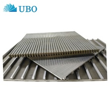 Stainless Steel Flat Johnson Screen Panel Wedge Wire Wrapped Screen Panel