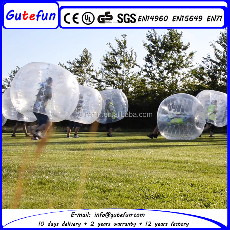 best quality 1.0mm tpu 1.5m dia. human giant inflatable buddy bumper ball for adult