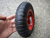 8 inch solid rubber wheels 2.50-4 with steel rim