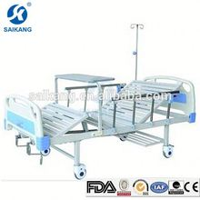Hospital Furniture Beautiful Multifunctional Manual Clinical Bed