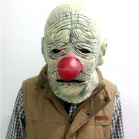 Alibaba Old Bald Clown Mask Bloody Evil Man Halloween Mask