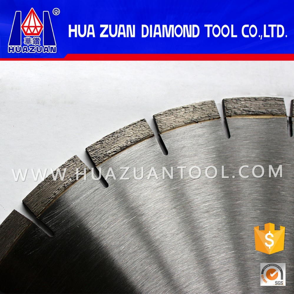 "HUAZUAN High Speed 14"" Concrete Saw Blade for Multi Purpose"