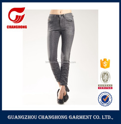 Mature women in jeans xxx usa women jeans with wrinkled leg elastic waist jeans for women