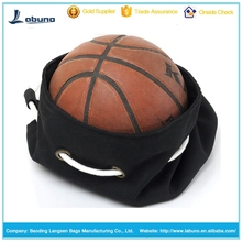 Korean backpack basketball bag Fold up canvas material cylindrical sports balls bags