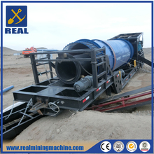 Gold Machinery gold mining trommel wash plants for gold mining