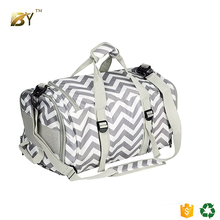 BINYI Duffle Bag Sports Gym Travel Luggage Including Shoes Compartment Women & Men