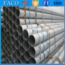 steel structure building materials ! galvanized pipes thread ends high precision galvanized steel tube