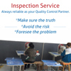 Responsible And Efficient Inspection Service In