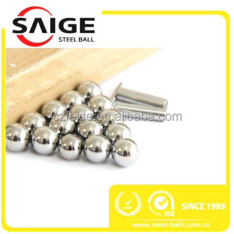 high precision steel wire ball 1.588mm-7.938mm for bearings