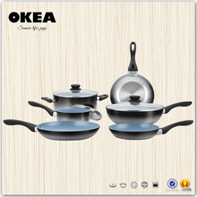 Natural style china aluminum cookware paint