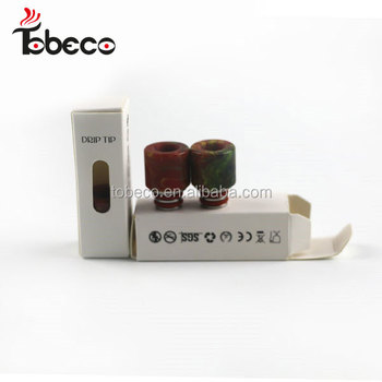 Epoxy resin Drip tip Resin Epoxy Metal 510 Drip Tips Resin Drip Tip for RDA RTA Atomizer Vape Vaporizers in stock
