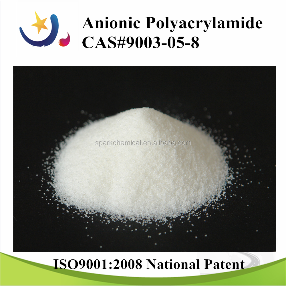 polymer flocculant chemical polyacrylamide for power plant