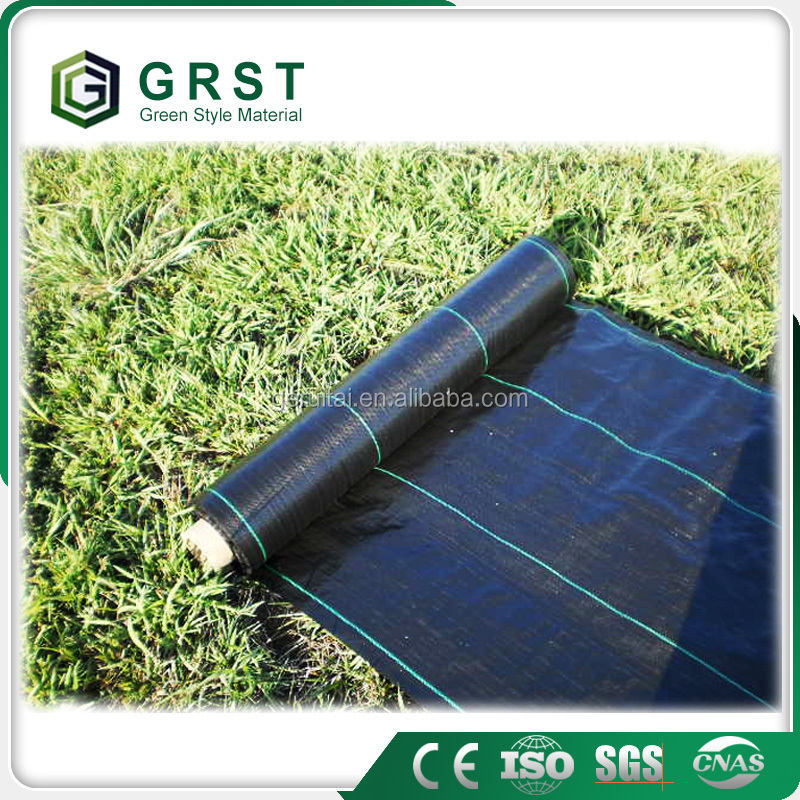 Greenhouse Plastic Film Ground Cover Weed control Mat