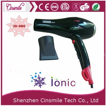 Ionic prefessional salon & household hair dryer with over heat protection 1600W