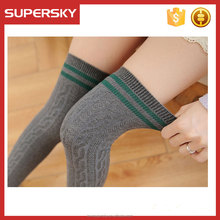 M157 Janpanese sports high knee stockings vivi cotton socks girls dancing jacquard thigh high socks