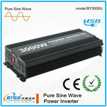 3000W with USB CE ROHS intelligent dc/ac power inverter
