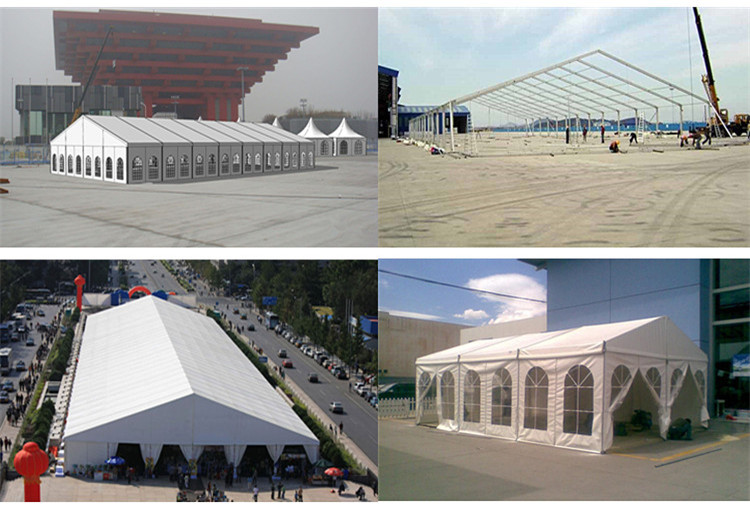 Aluminum Structure Warehouse Commercial Tent