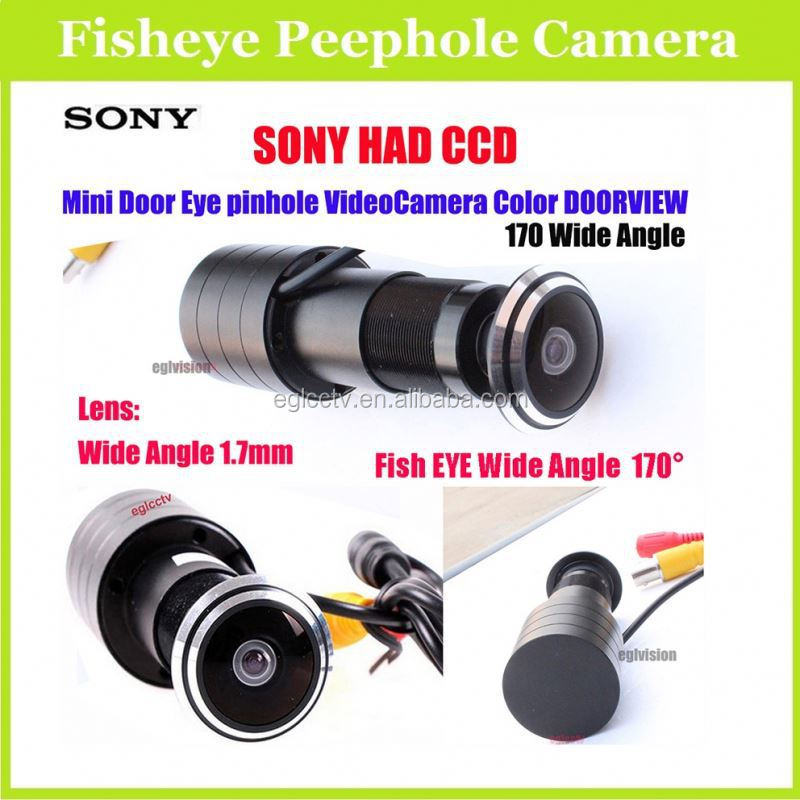 New Products 2015 Hot CCD 480TV Lines fisheye security camera With 1.7mm Lens