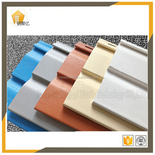 1.0mm think fire resistance and strong weather resistance soundproof exterior wall siding skatting board pvc cladding