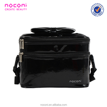 Small MOQ Guangzhou Factory Cheapest OEM Professional Pink/Red/Black Cosmetic Bag