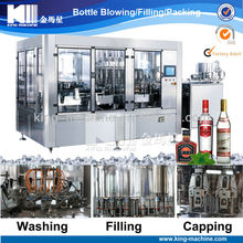 Automatic Sparking wine / Red Wine Filling Line / Bottling Machine