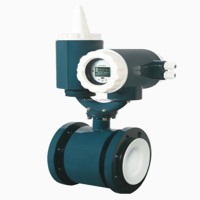 Flange type Battery-Powered Electromagnetic flow meter