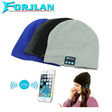 fashion gift Knitting bluetooth beanie hat and cap wireless bluetooth stereo handfree calling