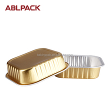Hot Stamping Aluminum Foil Food Packaging Containers Decorative Food Container Spaghetti Container