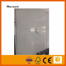 high quality strong magnetic non-glare magnetic glass whiteboard