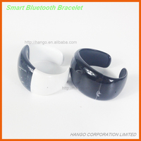 Bluetooth Wristband Bracelet With Phone Vibrate Call SMS Sync & Step Count