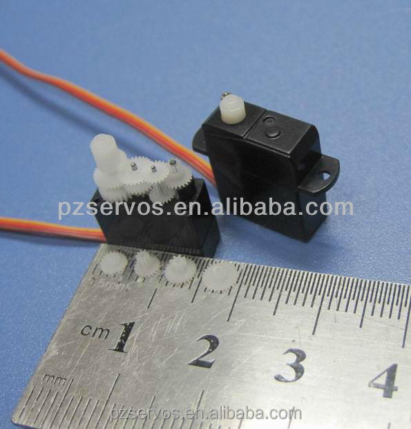PZ 1.7g Digital Ultra-micro Servo as Spare Part for Blade MCPX