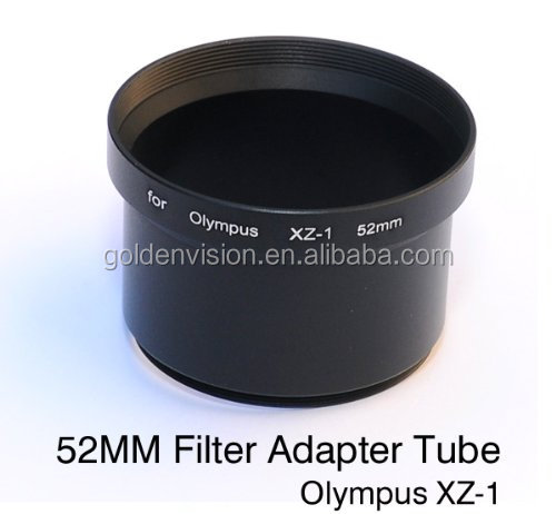 Wholesale 52mm Filter Lens Adapter Tube for Olympus XZ-1 Digital Camera