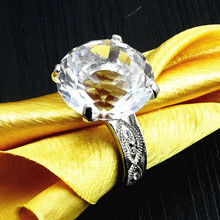 Beautiful Wedding Favors crystal Napkin Ring
