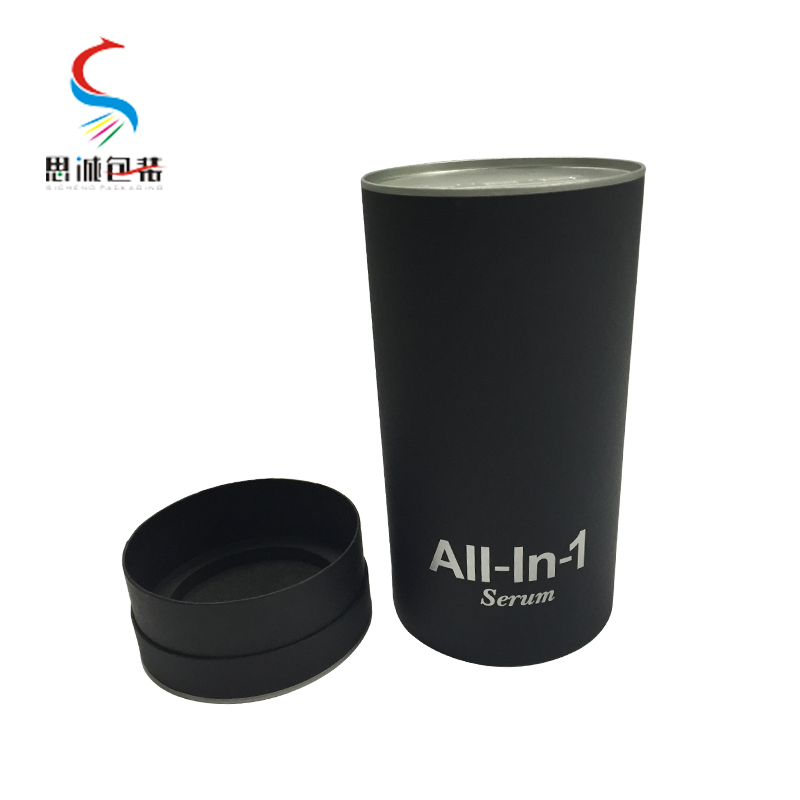 Custom printing cylinder shape small paper gift box